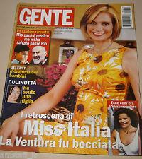 GENTE=2001/38=SIMONA VENTURA=TROY DONAHUE=JACQUES PERRIN=EMILIO FEDE=