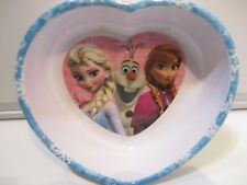 Frozen Zak! Melamine cereal bowl. In the shape of a heart.