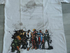 T-shirt STREET FIGHTER Ryu Ken Blanka Chun Li Dhalsim ... megadrive jeu video