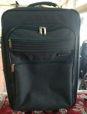 "Green rolling Delsey suitcase 23"" Tall"