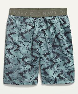 Old Navy Boys Printed Pajama Shorts ~ Size XS - XL .. NWT Dino Dinosaurs
