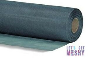 Black/Charcoal Flyscreen Fibreglass 30m x 1.22m roll Fly Screen