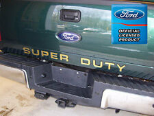 2010 Ford F250 Super Duty Tailgate Indentation Letters Inserts Stickers