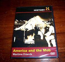 AMERICA AND THE MOB Mafia World War II Docks WWII Ships History Channel DVD NEW