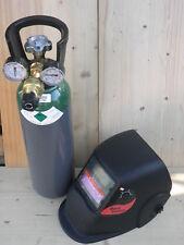 Kit Bombola Argon Europa  5 litri,  saldatura tig mig con riduttore e maschera