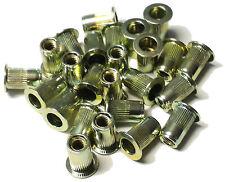 New listing Rivet nuts 10-24 steel 25pc Buy 3 or More, 10% Rebate (rivnut riv nut nutsert)