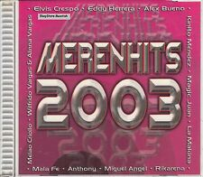 Elvis Crespo Eddy Herrera Alex Bueno Melao Criollo Merenhits 2003 CD New Sealed