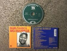 "BIG MAYBELLE ""BUES,CANDY & BIG MAYBELLE"" 1986 28TRX. VG COND. OOP COMPILATION"