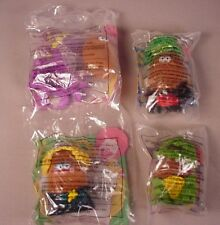 1996 McDonald's Halloween McNugget Buddies 4 toys MIP Happy Meal McNuggets set