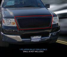 Black Vertical Billet Grille Grill  For Ford F-150 2004-2008