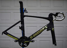 "DEMO Specialized S-Works Venge ""VENOM"" ViAS 56cm Large SW Sworks CUSTOM DECALS"