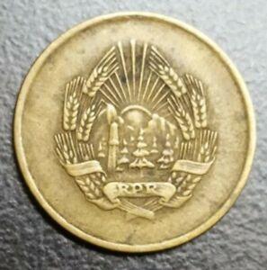 1956 ROMANIA 5 BANI COPPER NICKEL-ZINC VINTAGE OLD COIN KM 83.2