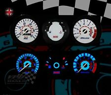 Rover Mini Speedo Interior Dash éclairage Personnalisé Mise à Niveau Ampoules cadran blanc Kit