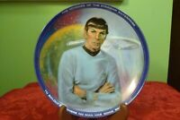 Star Trek Plate by Ernst - Mr Spock #2042F Art by Susie Morton in Mint Condition