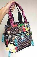 Harajuku Lovers Black Skater Girls Kawaii Japan Dolls Tote Bag Handbag