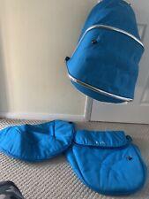 Silver Cross Wayfarer Pioneer Colour Pack - Hood /Apron Blue