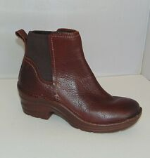 BIONICA Perth Ankle Boots Stretch Panel Western Comfort 6.5 women