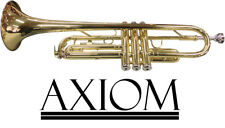 Axiom Student Trumpet Beginners Trumpet for School Band with Case and Mouthpiece