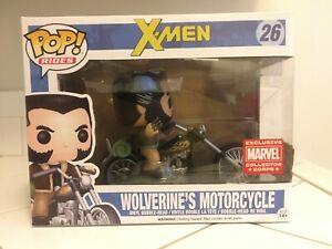 Funko Pop! Vinyl Figure #26 X-Men Wolverine's Motorcycle Collector Corps