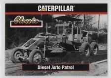 1993 TCM Caterpillar Earthmovers #12 Diesel Auto Patrol Non-Sports Card 0b6