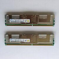 Server RAM 4GB Kit (2 x 2GB) Samsung M395T5750CZ4-CE61 DDR2 5300F ECC FB-DIMM