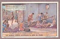 Ancient Roman Vineyard Crushing Pressing Grapes For Wine 65+ Y/O Trade Ad Card