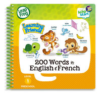 Leap Frog Learning Friends 200 Words in English & French
