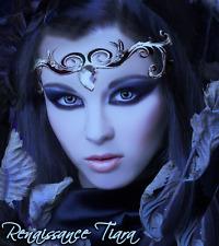 Xotic Eyes Silver Renaissance  Tiara Fairy Costume Glitter Crystal Tattoo