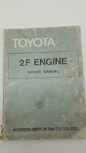 Toyota No 98126 2F Engine Repair Manual
