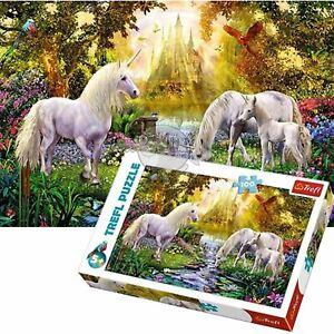 Trefl Unicorn 100 Piece Jigsaw Puzzle For Kids Secret Garden