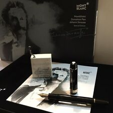 MONTBLANC DONATION SPECIAL EDITION JOHANN STRAUSS FOUNTAIN PEN (F) #114848- NEW