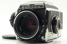 FedEx *Near Mint* Zenza Bronica S2 w/ Nikkor P 75mm f/2.8 Lens from Japan