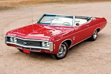 1969 Chevrolet IMPALA SS 427 Convertible, Refrigerator Magnet 40 Mil thick