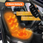 🔥12V Car Truck Heated Front Seat Cushion Cover Heating Heater Warmer Pad Winter