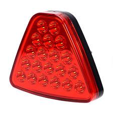 Triangle 20 LED Tail Light Reverse Lamp Brake Light Stoplight For 12V Vehicle