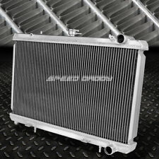 FOR 240SX S13 SILVIA KA24/KA24DE KA MT 2-ROW/CORE FULL ALUMINUM RACING RADIATOR