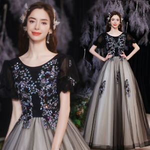 Noble Evening Formal Party Cocktail Ball Gown Prom Host  Acting Dress TSJY18901