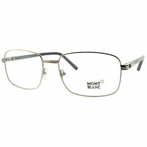 Montblanc MB0530 012 Gray Rectangular Optical Frames Eyeglasses