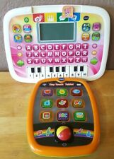 VTech Tiny Touch Tablet, Pink ABC Piano Tablet Vintage Tested And Works Great!