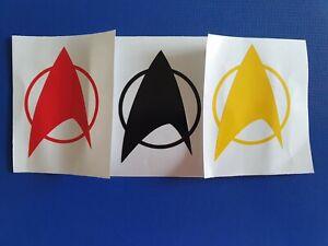 Star Trek Inspired starfleet communicator VInyl Decal phone tablet car Sticker