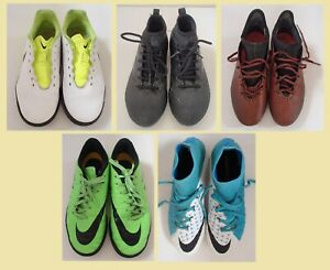 Junior Nike Adidas Moulded Studs Astro Football Boots 3 3.5 4 5 Flyknit X 17.3