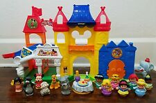 Fisher Price Little People Magic Of Disney Day at Disney Playset w/ Figures