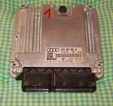 Motorsteuergerät Audi A6 TDI 2,7 V6 4F0907401B 4F2910401K EDC16CP 2005