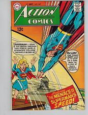 Action Comics 367  Superman & Supergirl!  The Menace of Superman's Speed  1968!
