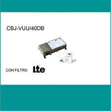 CENTRALINO DA MURO AUTOALIMENTATO 40dB PER IMPIANTO CENTRALIZZATO GBS VHF 2 UHF