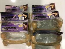 Huge lot of 6 Wooden Rolling Back Massager New in Package!