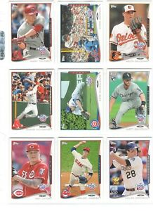 2014 Topps Opening Day Baseball Team Sets *Pick Your Team*
