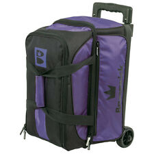 Brunswick Blitz Double Roller 2 Ball Bowling Bag Purple