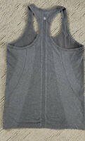 Lululemon Women Gray Swiftly Tech Racerback Tank Top 8 Euc