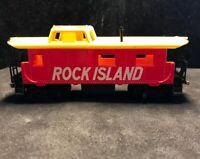 HO Rock Island Caboose 100% Tested & Refurbished Lot V28